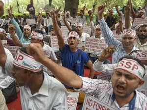 NRC protest pti