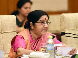 Sushma Swaraj hails UN for starting Hindi Twitter handle
