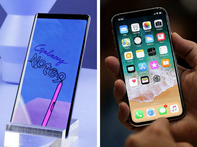 Samsung Galaxy Note 9 vs iPhone X: Battle of the $1,000 smartphones