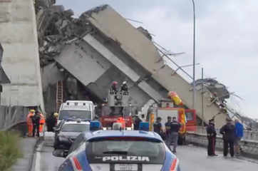 'Immense tragedy' as Italy motorway bridge collapses