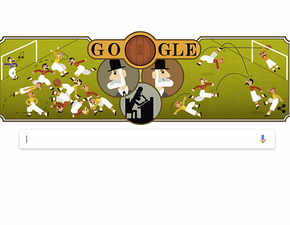 Google doodle celebrates Ebenezer Cobb Morley's 187th birthday: The man who wrote the rules of football