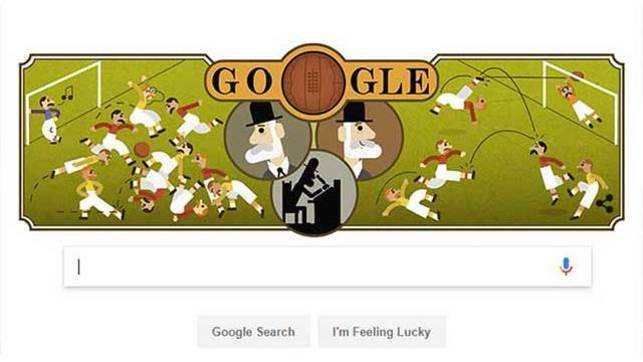 Ebenezer Cobb Morley is today's Google doodle. Have you seen it?