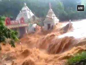 Watch: Incessant rains cause floods in parts of Odisha