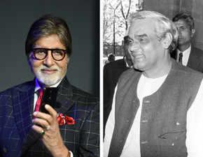 Atal Bihari Vajpayee used to wish me on my birthday: Big B remembers 'extremely rare human'