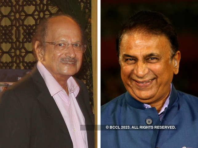 Ajit Wadekar and Sunil Gawaskar