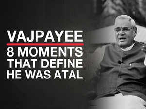 Vajpayee legacy: 8 moments that define he was Atal