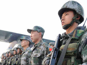 Chinese military conducts live fire drill in Tibet