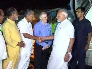Kerala floods: PM Modi arrives to tour affected areas