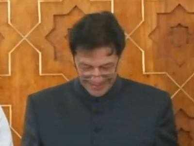 Watch: Imran Khan fumbles during his oath taking speech as Pakistan PM