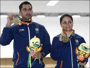 Asian Games 2018: Apurvi Chandela- Ravi Kumar win bronze in 10m air rifle mixed team