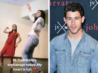 Nick Jonas, Priyanka Chopra visit Mumbai orphanage after intimate 'roka' ceremony