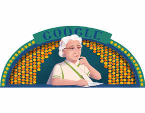 Google celebrates feminist Urdu author Ismat Chughtai's 107th birth anniversary with doodle