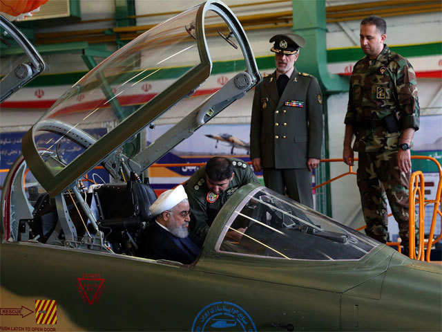 Iran's Unveils 4th-Generation Jet Fighter, Designed