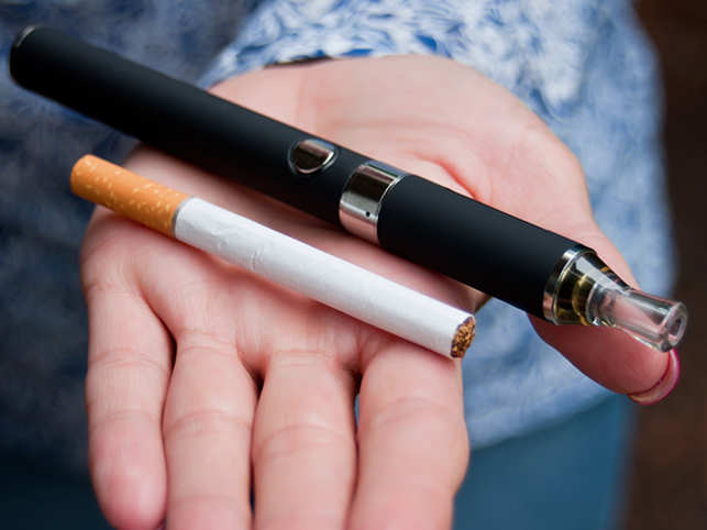 Vaping: Switching to e-cigarettes not a healthy choice