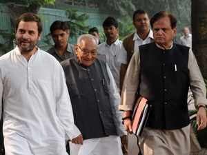 Ahmed Patel appointed Congress treasurer; Anand Sharma named foreign cell chief