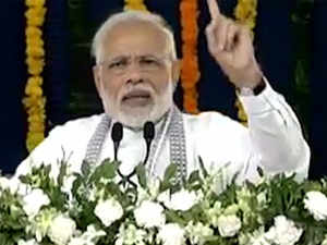 PM Modi addresses PMAY-G beneficiaries in Valsad, Gujarat
