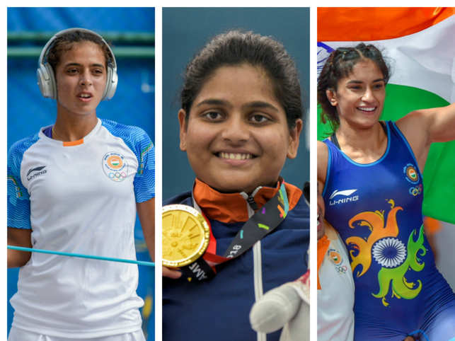She came on the field, she played like a hero and left the stadium with more than a medal. What she wore was a sense of glory, victory and the honour of making her country proud. This is what the winners at the Asian Games have been living.The ongoing games have seen strong and talented women bring home joy and glory. Here's a look the women from Team India who are winning our hearts.In Pic: Tennis player Ankita Raina (L), Shooter Rahi Sarnobat (C) and Wrestler Vinesh Phogat (R).