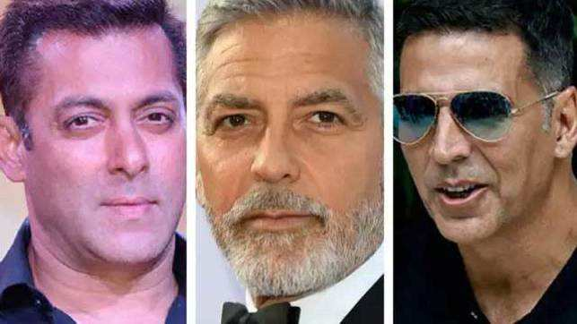 Salman, Akshay join George Clooney among world's top 10