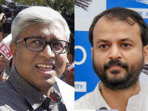 Ashutosh and Ashish Khetan: Kejriwal's Twitter timeline told tale of fall from grace