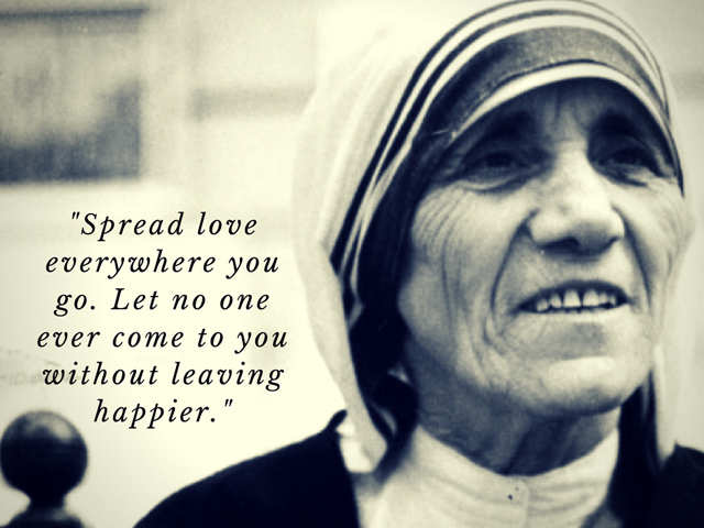 A Symbol Of Love Care Passion Mother Teresa Was The Humanitarian  All For A Selfless Cause