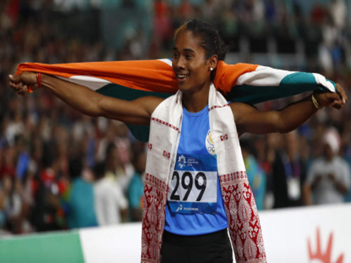 Hima shatters national record for 2nd time to win silver in 400m
