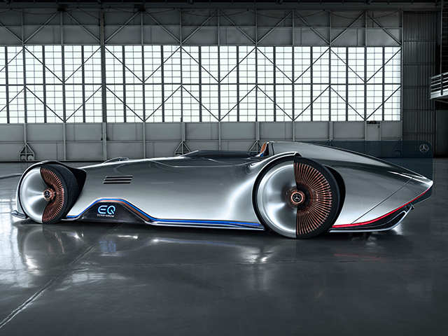 Mercedes-Benz EQ Silver Arrow concept pays homage to brand's original W 125 race car