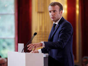 EU security must no longer depend on US says French President Macron
