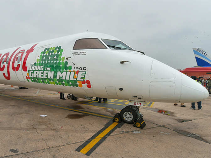 SpiceJet operates India's first biofuel-powered flight from