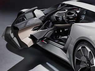 Audi presents car of the future: The all-electric PB18 e-tron