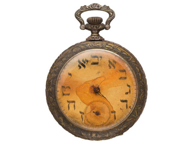 Maritime Antique Brass Titanic Pocket Watch