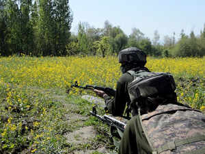 Large number of terrorists waiting at border to sneak into J&K