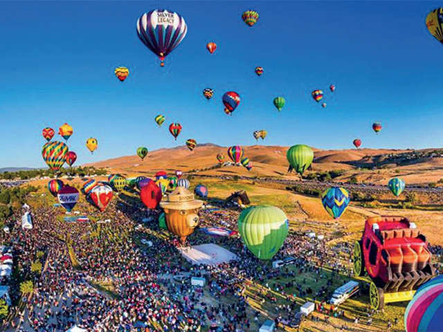 From Great Reno Balloon race in Nevada to Ladakh's Naropa festival, events you'll want to bookmark