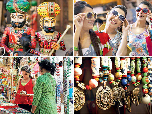 Dress like the locals: Shop for trendy, exquisite handicrafts in India