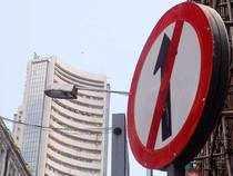 Sensex drops 174 pts, Nifty ends below 11,700 as rupee hits record low