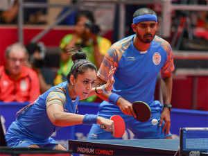 manika sharath duo tt - Asian Games 2018 Table Tennis
