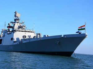 INS Sahyadari reaches Australia for Exercise KAKADU 2018