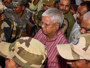 Fodder Scam: Lalu Yadav to surrender before court in Ranchi