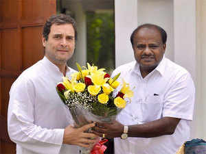 100 days in office: Kumaraswamy thanks Rahul Gandhi, requests his green signal to expand ministry