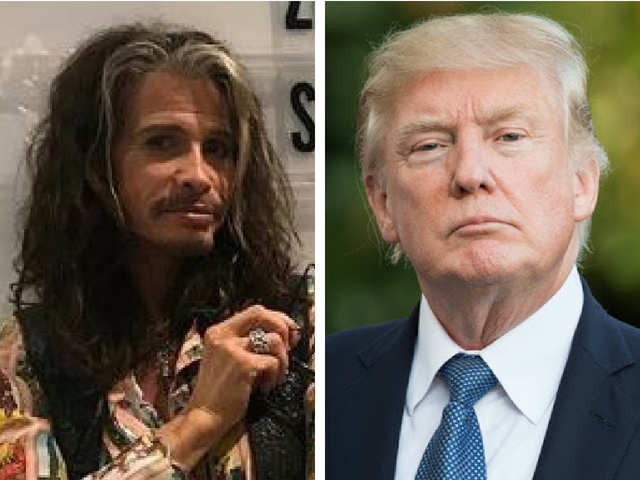 Dr D's column: How S Tyler can get Trump to stop playing 'Livin' On The Edge' at rallies