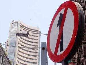 Sensex falls 45 pts, Nifty ends at 11,681 ahead of Q1 GDP data
