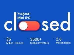 Sagoon-mini-ipo-closed