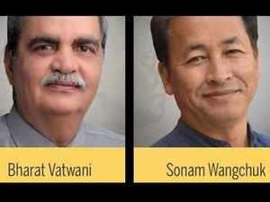Bharat Vatwani & Sonam Wangchuk