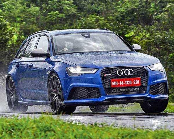 Autocar Show Audi RS Avant Performance Review The Economic - Audi rs6 2018