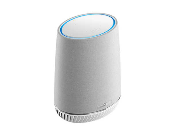 The Networking firm NetGear Orbi voice has finally come up with something we had been dreaming about for so long, a smart speaker and wireless mesh router in the same device. This device packs a 3.5 inch front-facing woofer and one-inch tweeters on the top. It offers a tri-band WiFi network which extends up to 4500 square feet. It surely is more expensive than other smart speakers out there but it prevents you from investing in a WiFi booster and smart speaker separately. (Imagie: www.netgear.com)