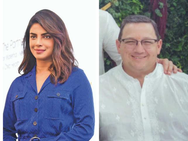 Priyanka Chopra (L) and Paul Jonas (R)