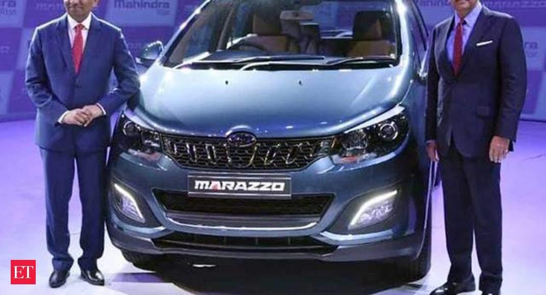 Marazzo Launched Mahindra Marazzo Launched In India Anand Believes