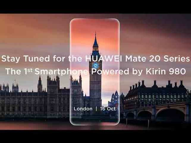 Huawei Mate 20 to feature Android Pie-based EMUI 9.0