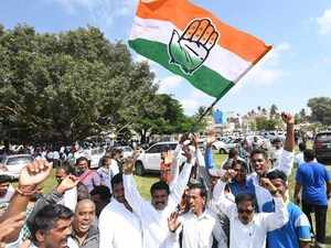 Congress wins majority in Karnataka civic polls