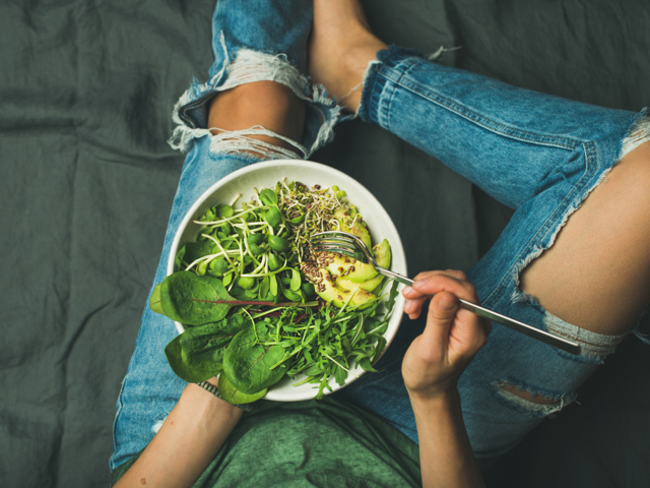 are salad diets healthy