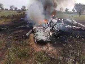 Watch: Indian Air Force MiG 27 crashes near Jodhpur, pilot ejects safely